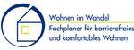 Logo Fachplaner barrierefreies und komfortables Wohnen