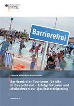 Cover der BMWi-Publikation barrierefreier Tourismus