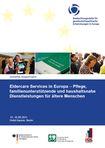 Cover des Tagungsbandes Eldercare Services