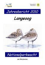 Cover des Ornithologischen Jahresberichts Langeoog 2010