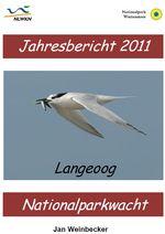 Cover des Ornithologischen Jahresberichtes Langeoog 2012