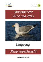 Cover des Ornithologischen Jahresberichtes Langeoog 2012/13