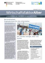 Cover des Faktenblattes Wirtschaftsfaktor Alter
